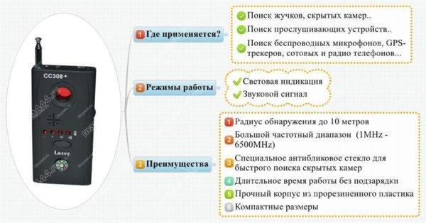 Антижучки - Антижучок 8 (СЛЕДОПЫТ 2), купить в Москве