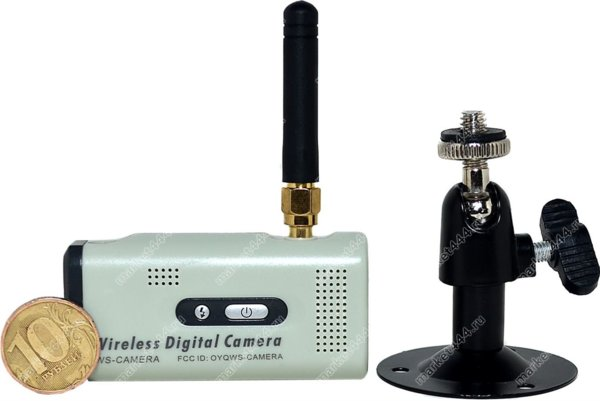 ip камера с датчиком движения и записью-Беспроводной Комплект Видеонаблюдения WS-400