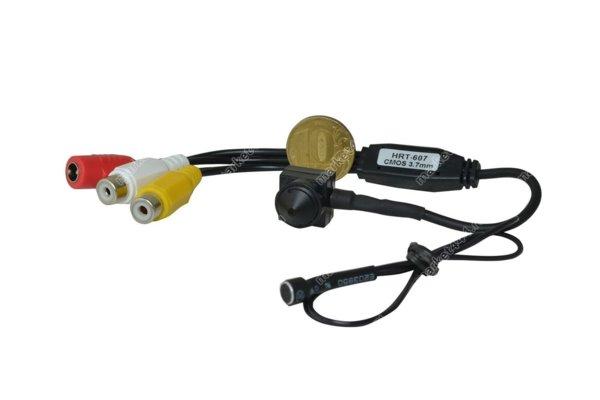 Микрокамеры - Камера видеонаблюдения HRT-607, купить в Москве