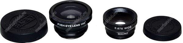 Фототехника - Комплект объективов на IPHONE SmartLens F-008, купить в Москве
