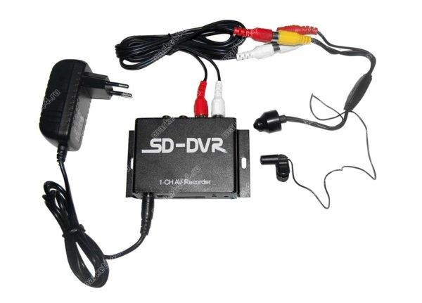 Комплекты видеонаблюдения - Комплект ВидеоНаблюдения SmartCam Z607 мини, купить в Москве