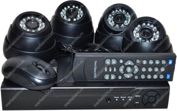 комплекты видеонаблюдения улицы цена-Комплект ВидеоНаблюдения SmartCam Z650