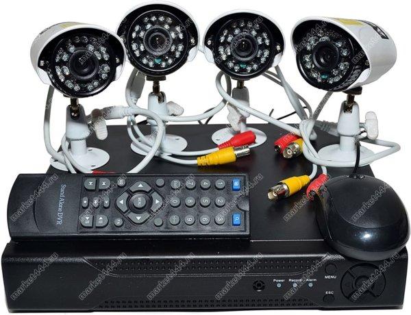 системы видеонаблюдения готовые комплекты-Комплект ВидеоНаблюдения SmartCam Z700