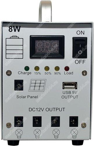Гаджеты для дома и дачи-Лампы на солнечных батареях  и зарядка SmartSolar KZ37