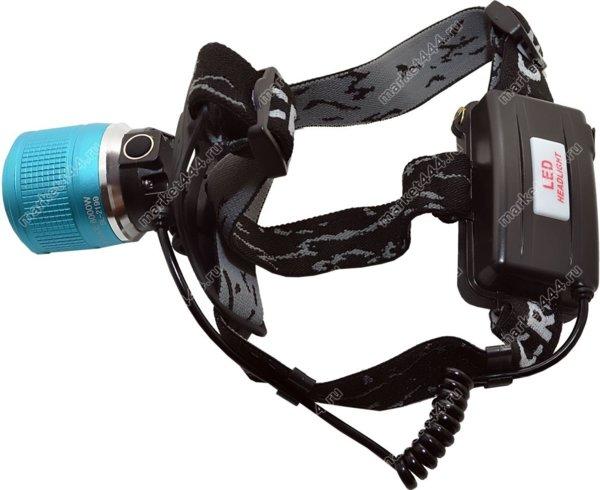 Прожекторные фонари-Налобный двудиодный фонарь SuperDiger 1