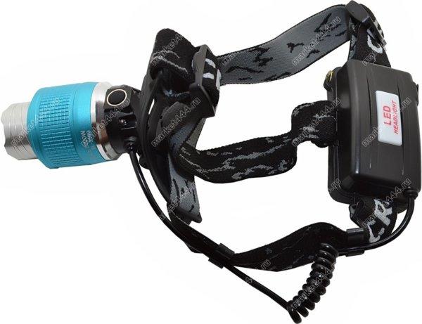 Прожекторные фонари - Налобный двудиодный фонарь SuperDiger 1, купить в Москве