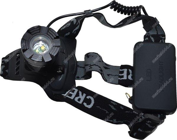 Прожекторные фонари-Налобный двудиодный фонарь SuperDiger 3