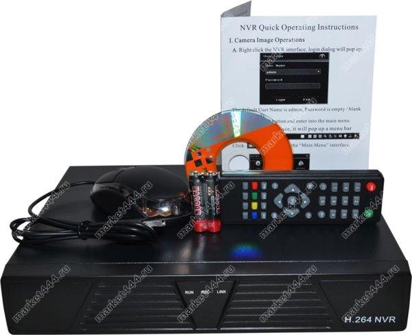 Видеонаблюдение-NVR ВидеоРегистратор C6004