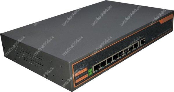 Оборудование для систем видеонаблюдения - POE коммутатор PC9P, купить в Москве