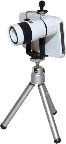 Фототехника - Телеобъектив для IPHONE Z3 (белый) Zoom 8, купить в Москве