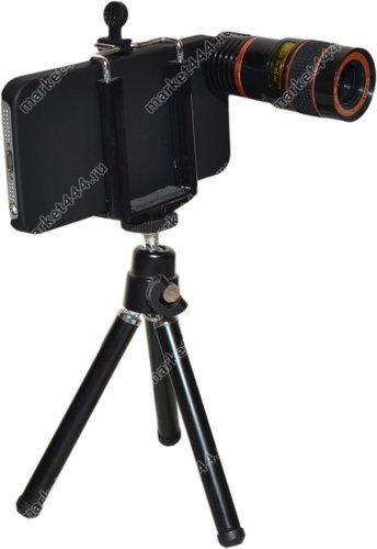 Фототехника-Телеобъектив для IPHONE Z3 (черный) Zoom 8