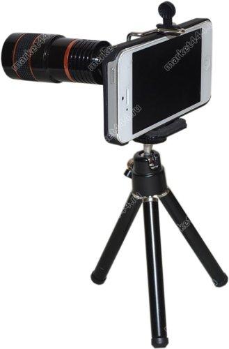 Фототехника - Телеобъектив для IPHONE Z3 (черный) Zoom 8, купить в Москве