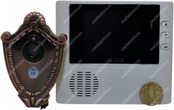 видеоглазок для входной-Видеоглазок КиберСторож MX12
